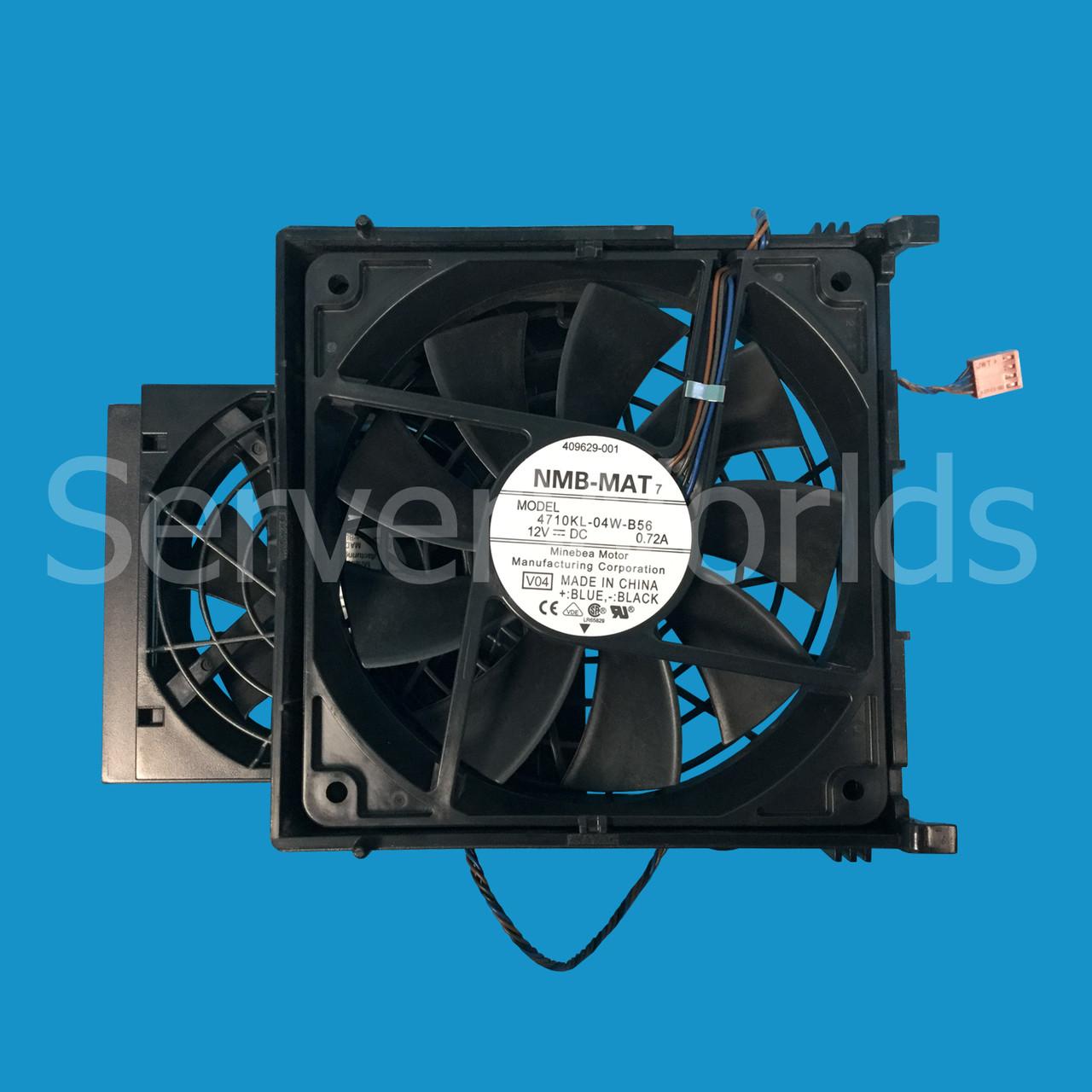 HP Z600 Workstation Rear System Cooling Fan Assembly 508064-001