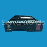 HP 653968-001 100GB 3G SATA MLC SSD LFF Hard Drive 653122-B21