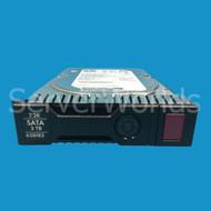 """HP 628182-001 3TB SATA 6G 3.5"""" MDL Hot Plug Gen8 Hard Drive 638519-001"""