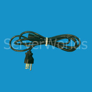 HP 121565-001 1.8M 120V AC Black Power Cord