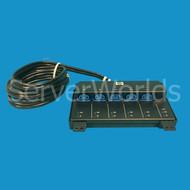 HP 629787-001 PDU Extension Bar 16A 100/240VA 50/60HZ 7 Connectors