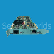 Refurbished Brooktrout TR1034+P24H-T1-1N-R 24-Channel Universal PCI Fax Board Front View