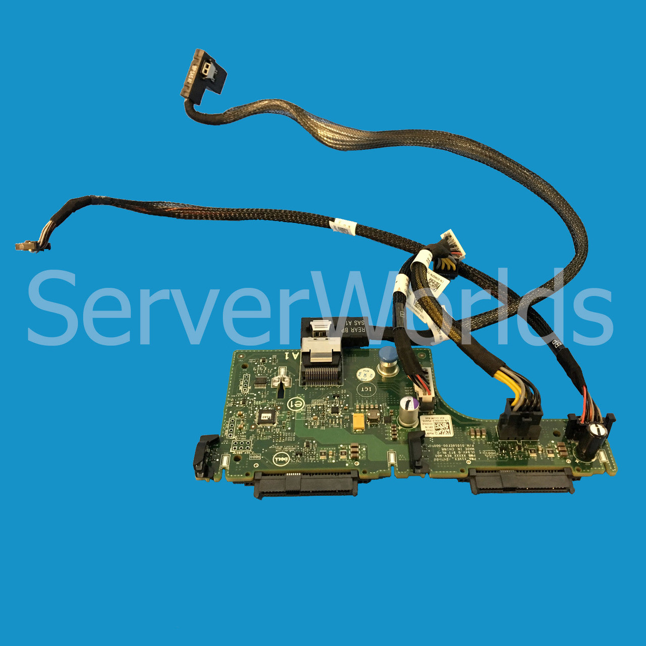 "REAR FLEX BAY 2.5/"" HDD BACKPLANE DELL POWEREDGE R720XD 2.5/"" SFF CHASSIS 0JDG3"