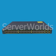 CISCO WS-C3560G-48PS-S Catalyst 3560G 48 Port PoE Ethernet Switch w/Ears