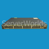 CISCO WS-C2960S-48FPS-L Catalyst 2960-S PoE+ Network Switch