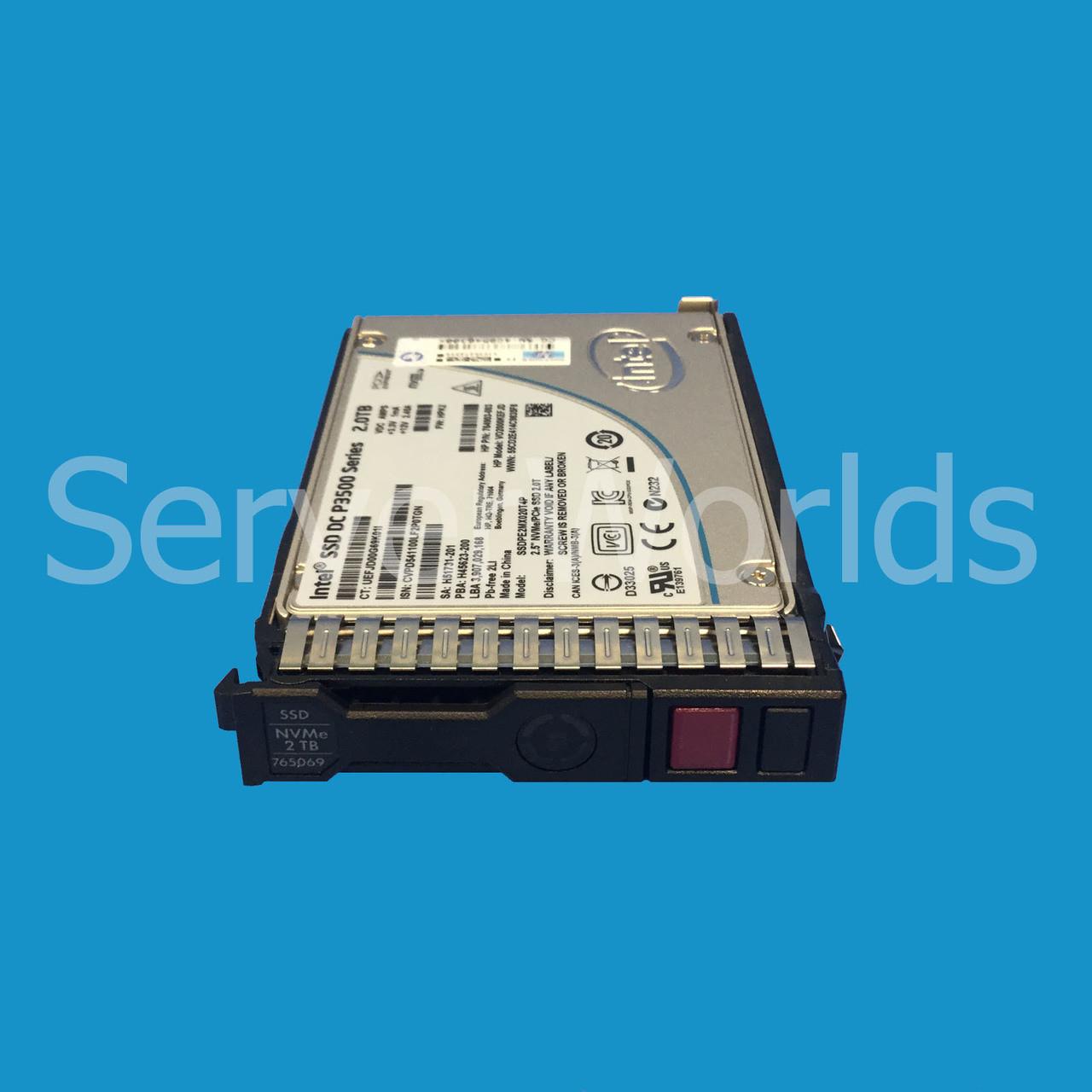 HP 765069-001 | 2TB PCIe 2 5VE SSD | 764903-003 | 764908-B21