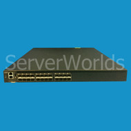 IBM 2498-F24 8/16GB SAN Brocade 6505 Fibre Channel Switch NO SFP