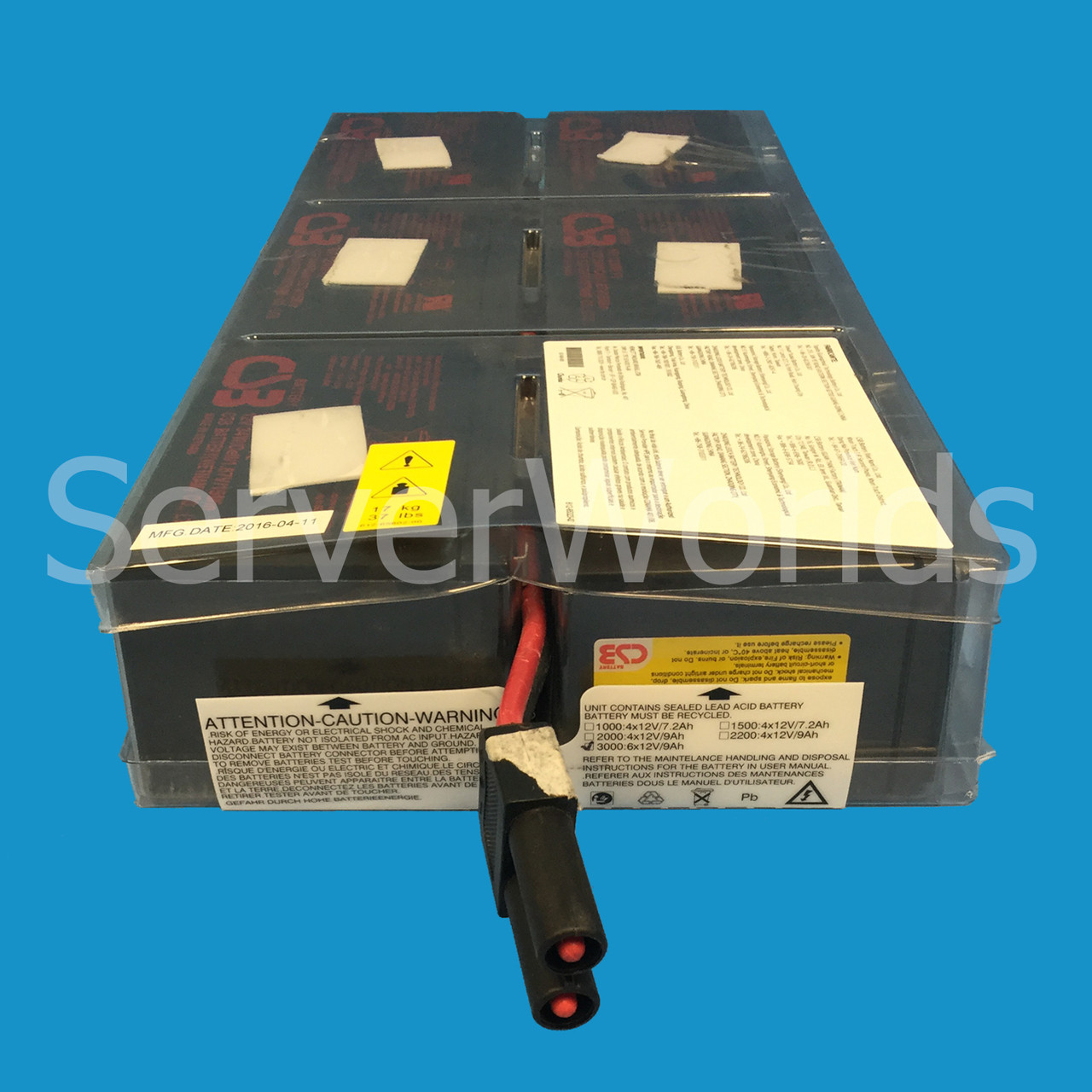 HP 796777-001 | Battery kit UPS 3000 new cells - Serverworlds