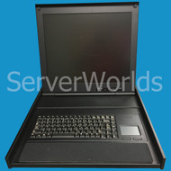 "EMC 091-000-091 1U 17"" LCD Monitor w/Rails"