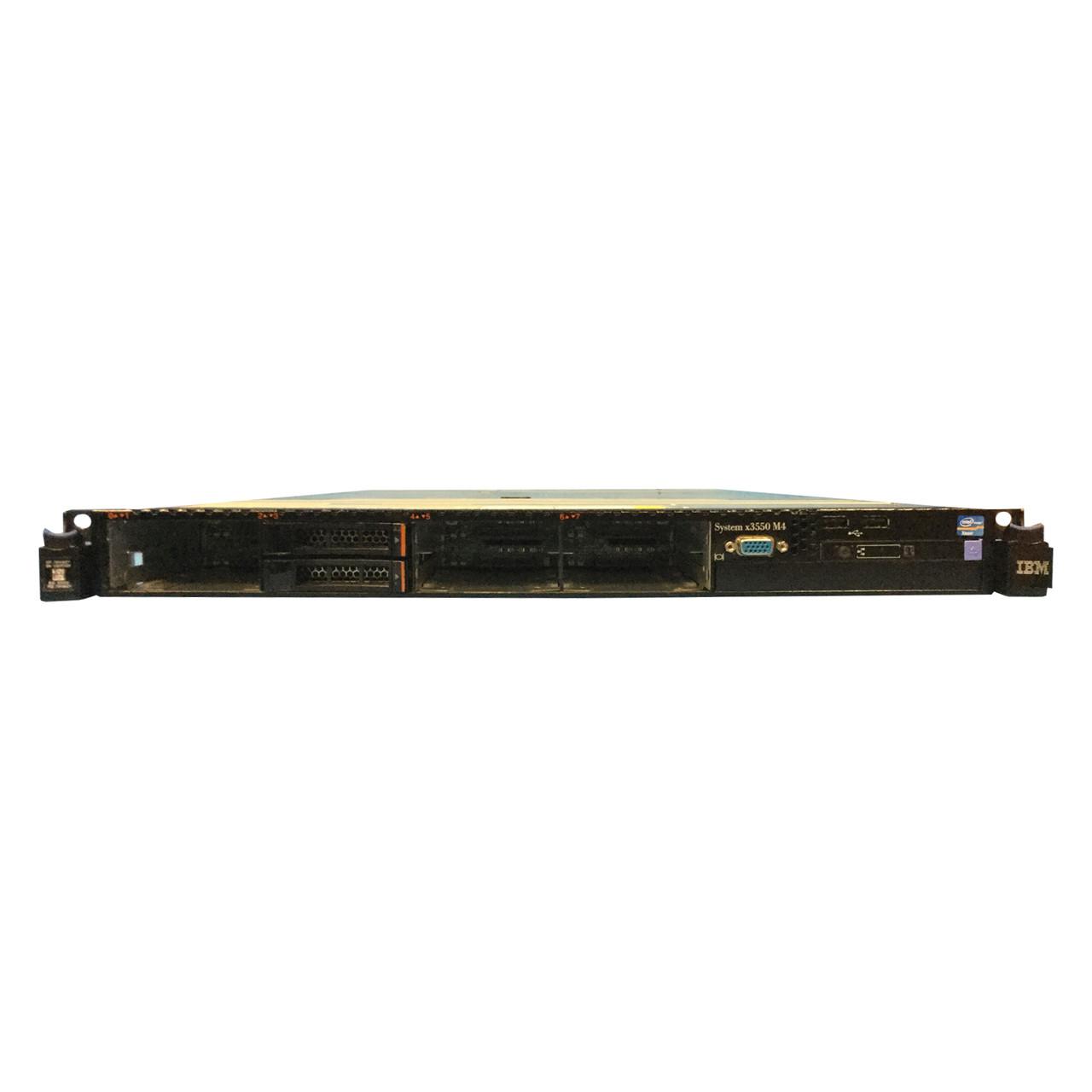 Refurbished Ibm X3550 M4 Sff Configured To Order Ibm 7914 Ac1 Serverworlds