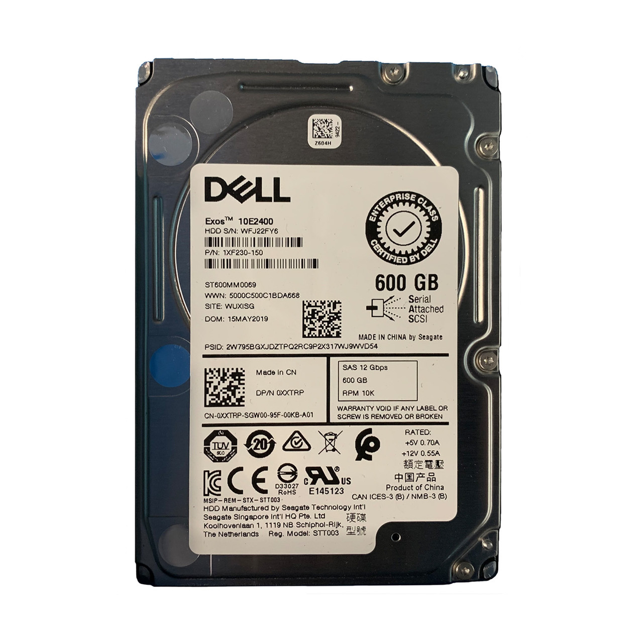"New Dell PowerEdge 1955 160GB SATA 2.5/"" Hard Drive 1 Year Warranty"