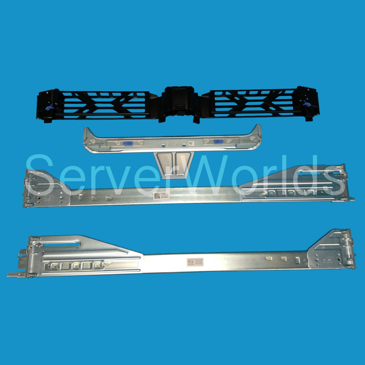 Dell Poweredge R710 Ready Rail Kit w/CMA, U020D