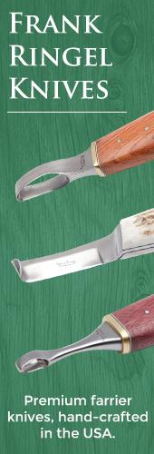 Frank Ringel farrier hoof knives