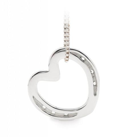 Horseshoe heart necklace