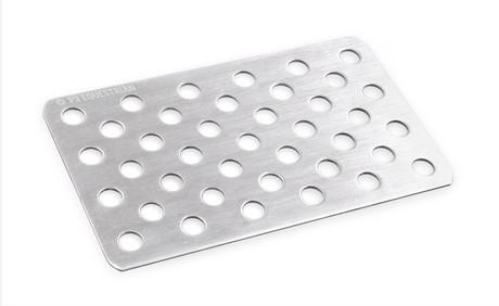 Aluminium crack plate