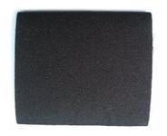 Replacement sanding belt for hoof buffer attachment