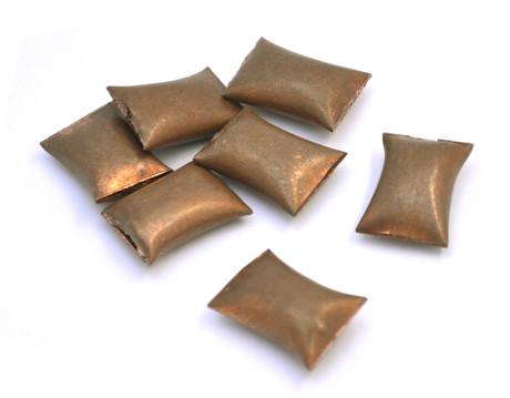 Borium bullets for horse shoes