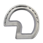 Rounded Z bar aluminium horse shoe