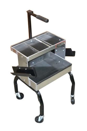 NC Boss two-shelf farrier toolbox