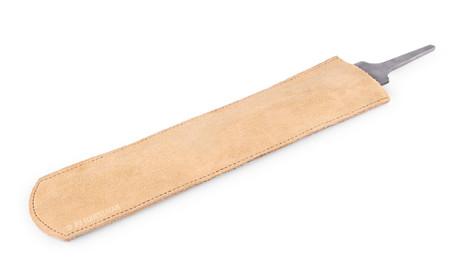 Farrier rasp leather sleeve