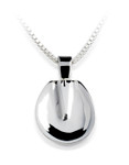 Horse Hoof Sole Necklace