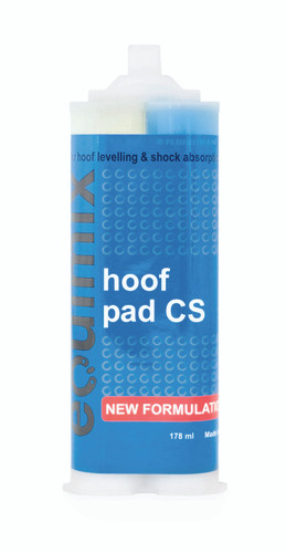 Equimix Hoof Pad CS instant pad material with copper sulphate
