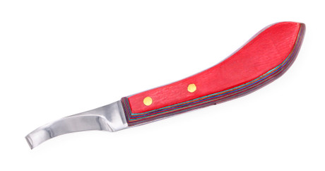 3P Curved Blade Hoof Knife with Laminate Handle