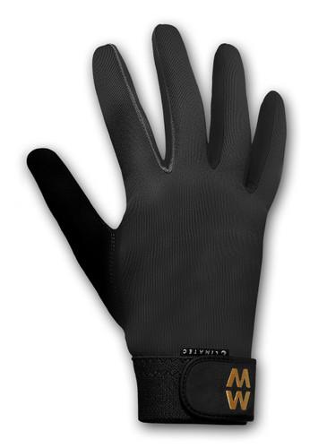 MacWet Climatec gloves, black, long cuff
