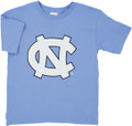 YOUTH Carolina Big NC Tee Shirt - Carolina Blue