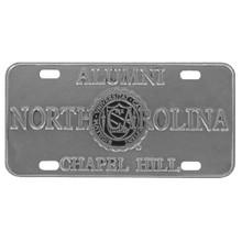 Carolina Alumni Pewter License Plate