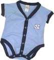 Carolina Little King¨ INFANT Trimmed Romper - Carolina Blue