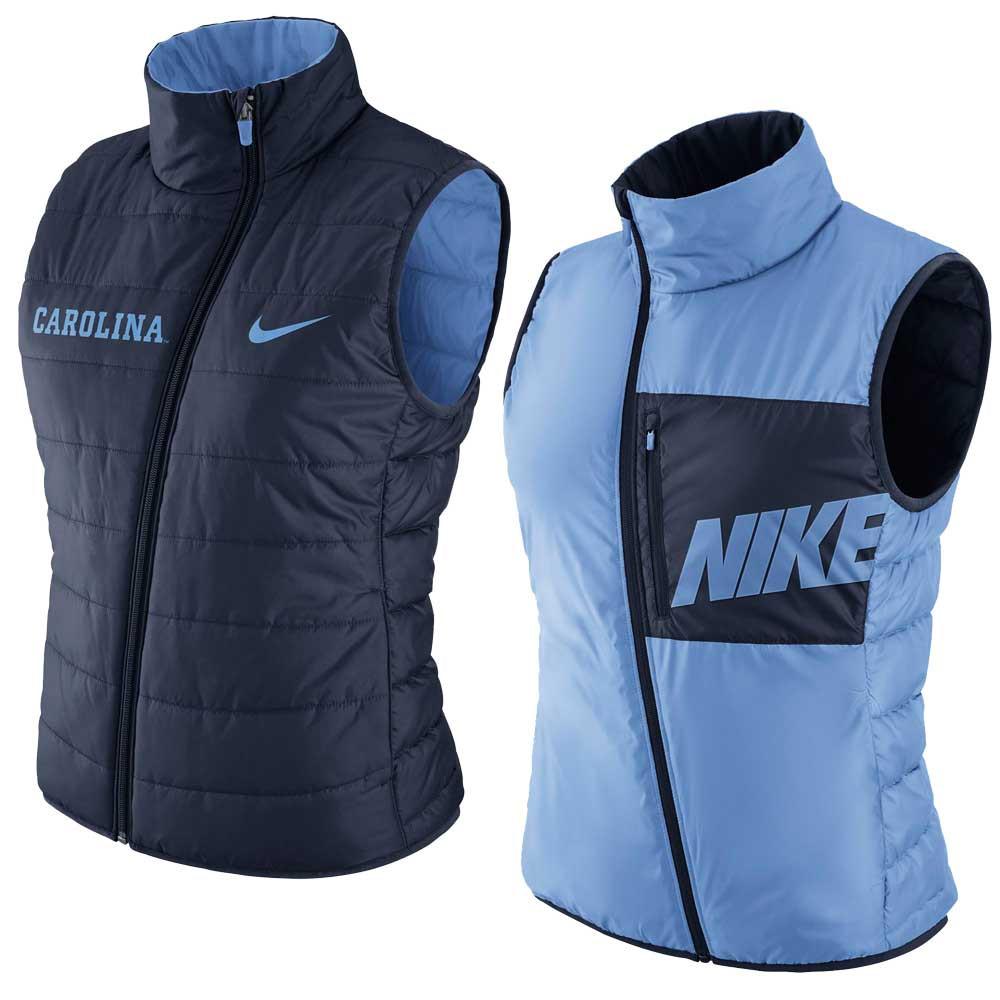 6b51f617177b Nike LADIES Reversible Vest - Carolina Blue to Navy. Loading zoom