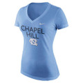 Nike Women's Phrase TriBlend Tee - Chapel Hill Carolina Blue