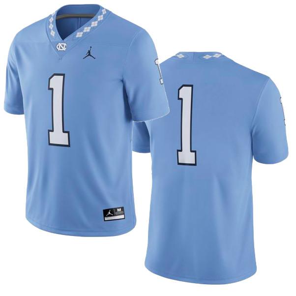 quality design e59ba 900a8 2018 YOUTH Nike Jordan Football Jersey - Carolina Blue #1