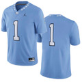 YOUTH Nike Jordan Football Jersey - Carolina Blue #1