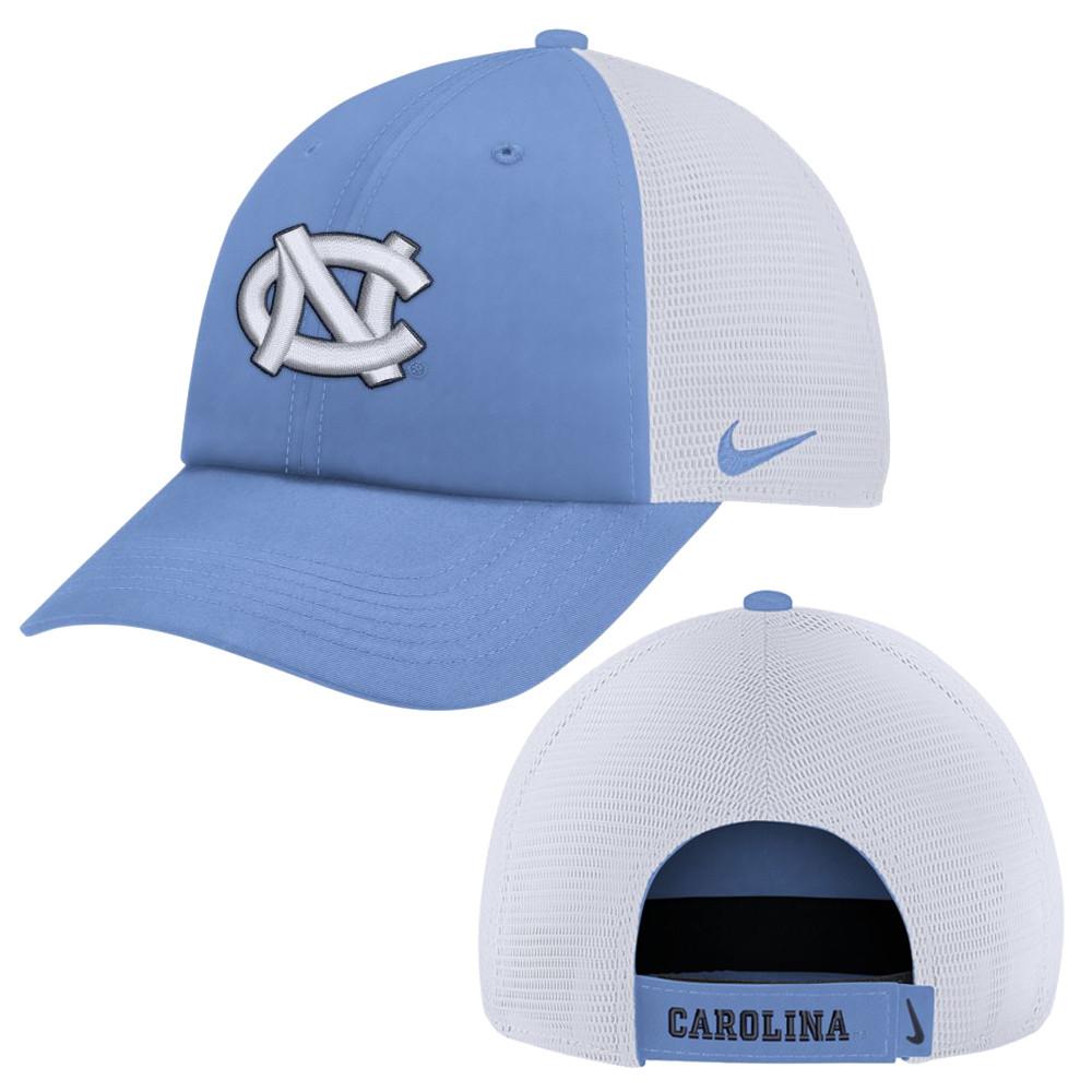 2493a5debc7 Nike Carolina Heritage 86 Trucker Hat - Carolina Blue. Image 1. Loading zoom