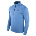 Nike Therma Fleece 1/2 Zip Pullover - Carolina Blue Rameses
