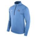 Nike Therma Fleece 1/2 Zip Pullover - Carolina Blue Rameses