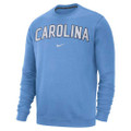 Nike Fleece Club Crew - Carolina Blue Arc Carolina