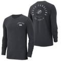 Nike Carolina Elevated Essentials Heavy Long Sleeve Tee - Graphite Heather Ram