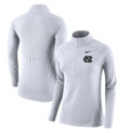 Nike Women's Element Half Zip - White