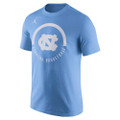 Nike Jumpman Basketball Verbiage Tee - Carolina Blue