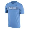 Nike Jumpman Sideline Jump Tee - Carolina Blue