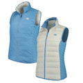 Womens Columbia Carolina Collegiate Lake 22 Reversible Vest
