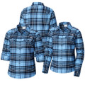 Women Columbia Carolina Silver Ridge Flannel Shirt