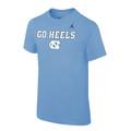 Youth Nike Go Heels Tee - Carolina Blue