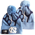 Youth New Era Cuffed Toboggan - Jr Logo Whiz Tar Heel Foot