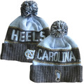 Top of the World Cuffed Toboggan with Pom - Carolina Heels