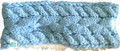 Ladies New Era Fleece Lined Sweater Headband - Carolina Blue