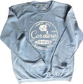 Ladies Pressbox Comfy Cord Long Sleeve Top - Surfer Stamp